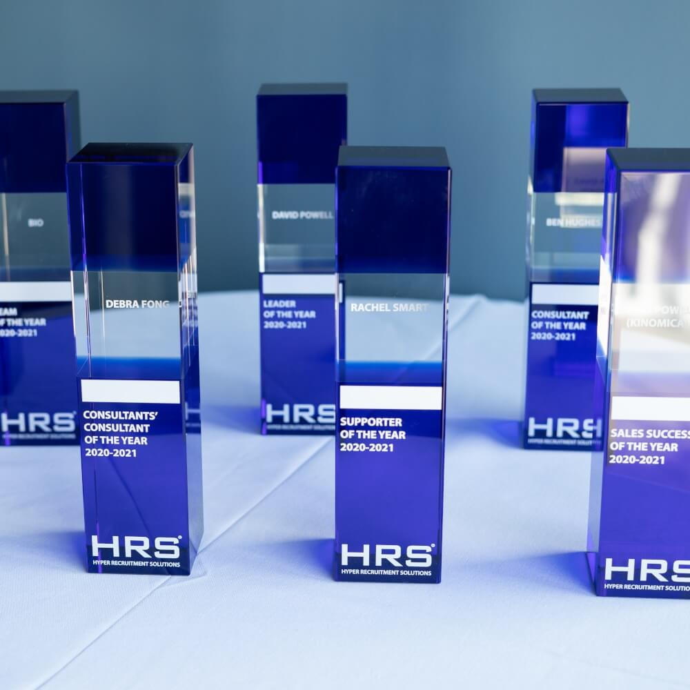 HRS awards for outstanding team members