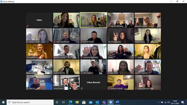HRS Awards Zoom meeting