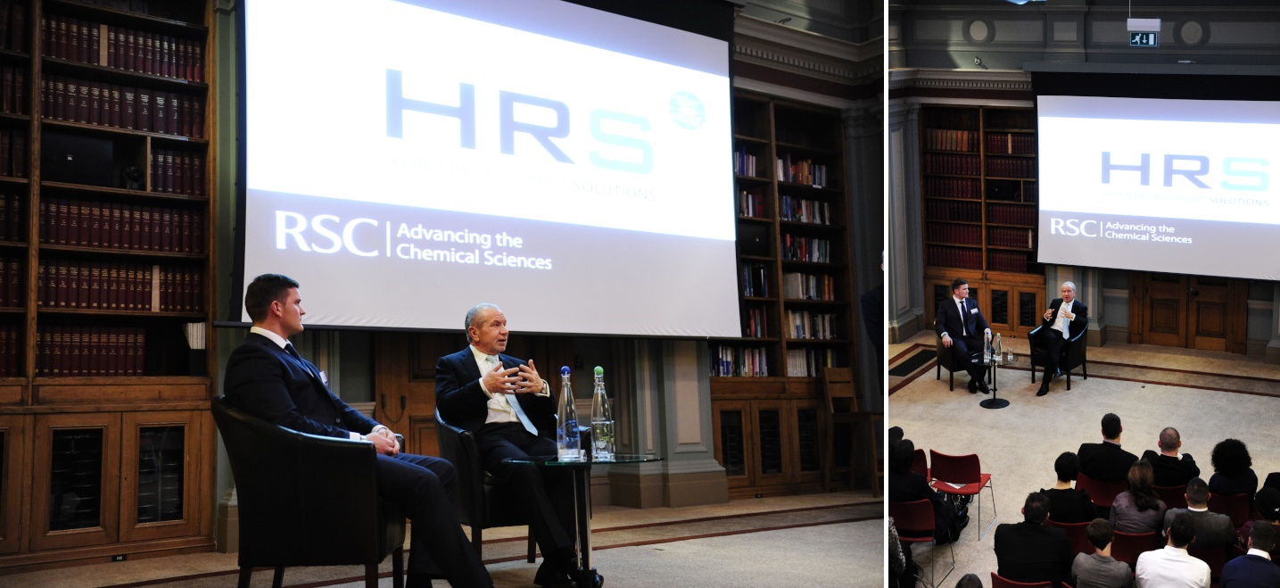 Ricky Martin and Lord Sugar launch HRS in 2012